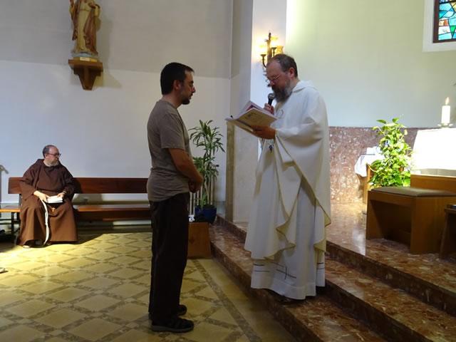 01-Fra Antoni manifesta voluntat incorporar-se caputxins